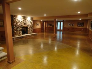 Stained Concrete Epoxy Floor